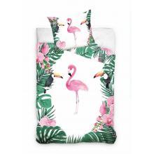 Gultas veļa Flamingo 160 x 200 cm, 70 x 80 cm