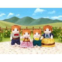 5290 Sylvanian Families MAPLE CAT FAMILY